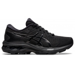 ASICS GEL-Kayano 27 GS Kids Running Shoe - Black/Black ASICS GEL-Kayano 27 GS Kids Running Shoe - Black/Black