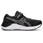 ASICS PRE-Ecite 8 PS Velcro Kids Running Shoe - Black/White ASICS PRE-Ecite 8 PS Velcro Kids Running Shoe - Black/White