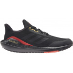 Adidas EQ21 RUN Kids Running Shoe - Core Black/Core Black/Vivid Red Adidas EQ21 RUN Kids Running Shoe - Core Black/Core Black/Vivid Red