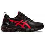 ASICS GEL-Quantum 180 GS Kids Cross Training Shoe - Black/Electric Red ASICS GEL-Quantum 180 GS Kids Cross Training Shoe - Black/Electric Red
