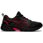 ASICS GEL-Venture 8 GS Kids Trail Running Shoe - Black/Electric Red ASICS GEL-Venture 8 GS Kids Trail Running Shoe - Black/Electric Red