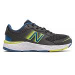 New Balance 680v6 BO Kids Running Shoe -  Black/Oxygen Blue/Sulphur Yellow New Balance 680v6 BO Kids Running Shoe -  Black/Oxygen Blue/Sulphur Yellow