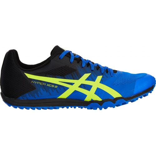 ASICS Hyper XCS 2 Adults Track & Field Shoe - Illusion Blue/Hazard Green