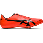 ASICS HYPERSPRINT 7 Adults Track & Field Shoe - Sunrise Red/Black ASICS HYPERSPRINT 7 Adults Track & Field Shoe - Sunrise Red/Black