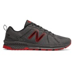 New Balance MT590LM4 2E WIDE Men's Trail Running Shoe - Marblehead/Magnet/Team Red New Balance MT590LM4 2E WIDE Men's Trail Running Shoe - Marblehead/Magnet/Team Red