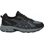 ASICS GEL-Venture 6 D WIDE Women's Trail Running Shoe - Black/Stone Grey ASICS GEL-Venture 6 D WIDE Women's Trail Running Shoe - Black/Stone Grey
