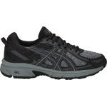 ASICS GEL-Venture 6 D WIDE Women's Trail Running Shoe - Black/Stone Grey - JAN 19 ASICS GEL-Venture 6 D WIDE Women's Trail Running Shoe - Black/Stone Grey - JAN 19