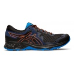 ASICS GEL-Sonoma 4 Men's Trail Running Shoe - Black/Flash Coral ASICS GEL-Sonoma 4 Men's Trail Running Shoe - Black/Flash Coral