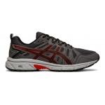 ASICS GEL-Venture 7 Men's Trail Running Shoe - Black/Classic Red ASICS GEL-Venture 7 Men's Trail Running Shoe - Black/Classic Red