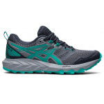 ASICS GEL-Sonoma 6 Womens Trail Running Shoe - Carrier Grey/Baltic Jewel ASICS GEL-Sonoma 6 Womens Trail Running Shoe - Carrier Grey/Baltic Jewel