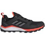 Adidas TERREX AGRAVIC Mens Trail Running Shoe - Core Black/Grey Four/Solar Red Adidas TERREX AGRAVIC Mens Trail Running Shoe - Core Black/Grey Four/Solar Red