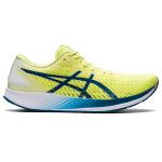 ASICS Hyper Speed Mens Racing Shoe - Glow Yellow/Deep Sea Teal ASICS Hyper Speed Mens Racing Shoe - Glow Yellow/Deep Sea Teal