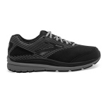 Brooks Addiction Walker 2 Suede 2E WIDE Men's Walking Shoe - BLACK Brooks Addiction Walker 2 Suede 2E WIDE Men's Walking Shoe - BLACK