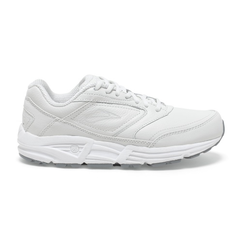 BROOKS ADDICTION WALKER B WOMENS WALKING SHOE - WHITE @ Sportsmart | Tuggl