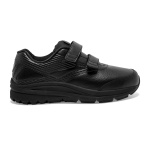 Brooks Addiction Walker 2 VELCRO D WIDE Women's Walking Shoe - BLACK Brooks Addiction Walker 2 VELCRO D WIDE Women's Walking Shoe - BLACK