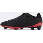 Image 2: Concave Halo+ Leather FG Adults Football Boot - BLACK/RED