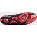 Image 3: Concave Halo+ Leather FG Adults Football Boot - BLACK/RED