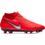 Nike Phantom VSN Academy DF FG Adults Football Boot - BRIGHT CRIMSON/METALLIC SILVER Nike Phantom VSN Academy DF FG Adults Football Boot - BRIGHT CRIMSON/METALLIC SILVER