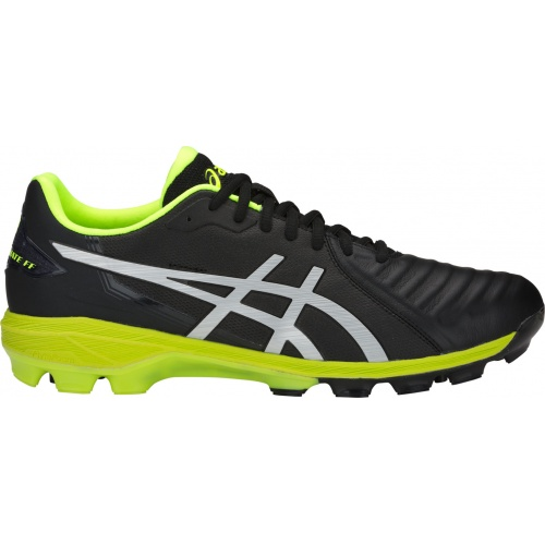 ASICS Lethal Ultimate FF FG Adults Football Boot - BLACK/SILVER