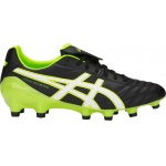 ASICS Lethal Testimonial 4 IT Adults Football Boot - Black/Hazard Green ASICS Lethal Testimonial 4 IT Adults Football Boot - Black/Hazard Green