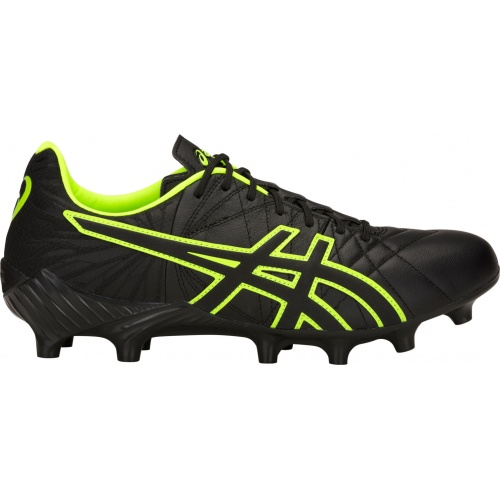 ASICS Lethal Tigreor IT FF Adults Football Boot - Black/Hazard Green