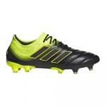 Adidas COPA 19.1 FG Adults Football Boot - core black/solar yellow/core black Adidas COPA 19.1 FG Adults Football Boot - core black/solar yellow/core black