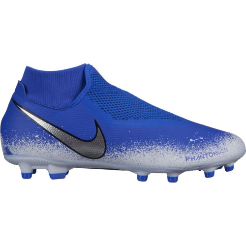 9eaef805d Nike Phantom VSN Academy DF FG Adults Football Boot - RACER  BLUE/CHROME-WHITE | Sportsmart | Melbourne's largest sports warehouses