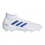 Adidas PREDATOR 19.3 FG Adults Football Boot - FTWR White/Bold Blue/Bold Blue - APRIL Adidas PREDATOR 19.3 FG Adults Football Boot - FTWR White/Bold Blue/Bold Blue - APRIL