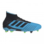 Adidas Predator 19.1 FG Adults Football Boot - bright cyan/core black/solar yellow Adidas Predator 19.1 FG Adults Football Boot - bright cyan/core black/solar yellow