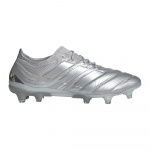 Adidas Copa 20.1 FG Adults Football Boot - Silver Met./Silver Met./Solar Yellow Adidas Copa 20.1 FG Adults Football Boot - Silver Met./Silver Met./Solar Yellow