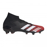 Adidas PREDATOR MUTATOR 20.1 FG Adults Football Boot - Core Black/FTWR White/Active Red Adidas PREDATOR MUTATOR 20.1 FG Adults Football Boot - Core Black/FTWR White/Active Red