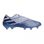 Adidas NEMEZIZ 19.1 FG Adults Football Boot - FTWR White/Team Royal Blue Adidas NEMEZIZ 19.1 FG Adults Football Boot - FTWR White/Team Royal Blue