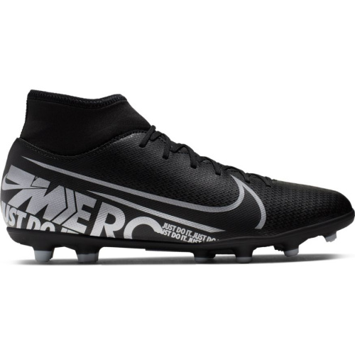new styles a5af9 012d5 Nike Superfly 7 Club FG Adults Football Boot - BLACK/MTLC COOL GREY
