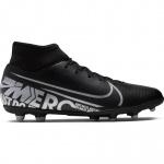 Nike Superfly 7 Club FG Adults Football Boot - BLACK/MTLC COOL GREY Nike Superfly 7 Club FG Adults Football Boot - BLACK/MTLC COOL GREY