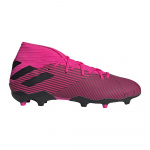 Adidas Nemeziz 19.3 FG Adults Football Boot - shock pink/core black/shock pink Adidas Nemeziz 19.3 FG Adults Football Boot - shock pink/core black/shock pink