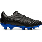 ASICS Lethal Flash IT Adults Football Boot - BLACK/ASICS BLUE ASICS Lethal Flash IT Adults Football Boot - BLACK/ASICS BLUE