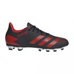 Adidas Predator 20.4 FxG Adults Football Boot - Core Black/Active Red/FTWR White Adidas Predator 20.4 FxG Adults Football Boot - Core Black/Active Red/FTWR White