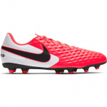 Nike Tiempo Legend 8 Club MG Adults Football Boot - LASER CRIMSON/BLACK-WHITE Nike Tiempo Legend 8 Club MG Adults Football Boot - LASER CRIMSON/BLACK-WHITE