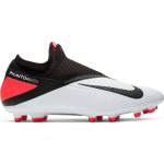 Nike Phantom Vision 2 Academy Dynamic Fit Adults Football Boot - WHITE/BLACK-LASER CRIMSON Nike Phantom Vision 2 Academy Dynamic Fit Adults Football Boot - WHITE/BLACK-LASER CRIMSON