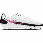 Nike Phantom GT Academy MG Adults Football Boot - WHITE/PINK BLAST-BLACK Nike Phantom GT Academy MG Adults Football Boot - WHITE/PINK BLAST-BLACK