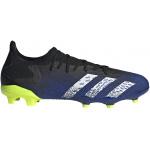 Adidas PREDATOR FREAK .3 L FG Adults Football Boot - Core Black/FTWR White/Solar Yellow Adidas PREDATOR FREAK .3 L FG Adults Football Boot - Core Black/FTWR White/Solar Yellow