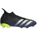 Adidas PREDATOR FREAK .2 FG Adults Football Boot - Core Black/FTWR White/Solar yellow Adidas PREDATOR FREAK .2 FG Adults Football Boot - Core Black/FTWR White/Solar yellow