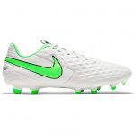 Nike Tiempo Legend 8 Academy MG Adults Football Boot - Platinum Tint/Rage Green Nike Tiempo Legend 8 Academy MG Adults Football Boot - Platinum Tint/Rage Green