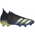 Adidas Predator Freak .1 FG Adults Football Boot - Core Black/FTWR White/Solar Yellow Adidas Predator Freak .1 FG Adults Football Boot - Core Black/FTWR White/Solar Yellow