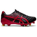 ASICS Lethal Tigreor IT FF Hybrid Adults Football Boot - Black/Classic Red ASICS LETH TIG HYBRID (M) 001