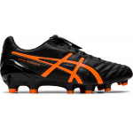 ASICS Lethal Testimonial 4 IT Adults Football Boot - Black/Shocking Orange ASICS LETHAL TEST 4 IT (M) 001