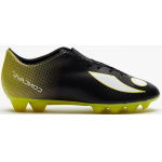 Image 1: Concave VOLT+ FG Kids Football Boot - Black/Neon Yellow