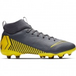 Nike Superfly 6 Academy GS FG/MG Kids Football Boot - DARK GREY/BLACK-DARK GREY Nike Superfly 6 Academy GS FG/MG Kids Football Boot - DARK GREY/BLACK-DARK GREY
