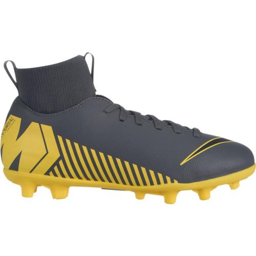 size 40 0e719 10000 Nike Superfly 6 Club MG Kids Football Boot - DARK GREY/BLACK-OPTI YELLOW