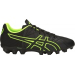 Asics Lethal Tigreor IT GS FG Kids Football Boot - BLACK/HAZARD GREEN Asics Lethal Tigreor IT GS FG Kids Football Boot - BLACK/HAZARD GREEN